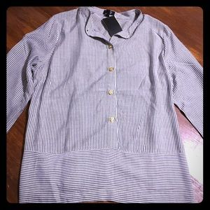 Jones New York Button Down Dress Shirt
